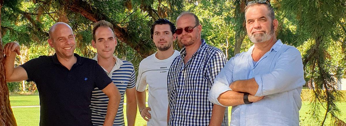 Het team van Hoveniersbedrijf Het Klaverblad