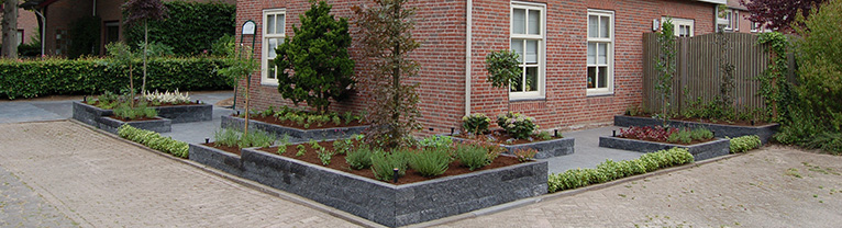 Tuinaanleg kosten en tuinaanleg voorbeelden brabant - Foto van het terras ...